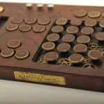 Tastatur aus Holz