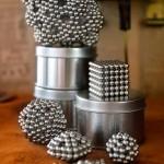 Faszinierende Magnetkügelchen...