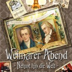 Weimarer Abend - Flyer, sponsored by Buchbar