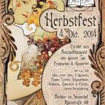 Der Flyer zu unserem Herbstfest