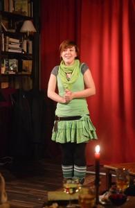 """Der Buchbars neue Betreiberin - """"Unser Dinchen Immergrün"""""""