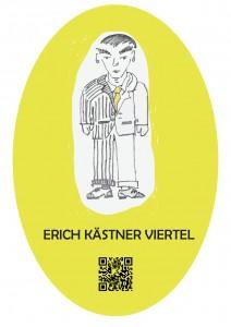 Auch bei uns das Stationszeichen des Erich Kästner Viertels! ;)